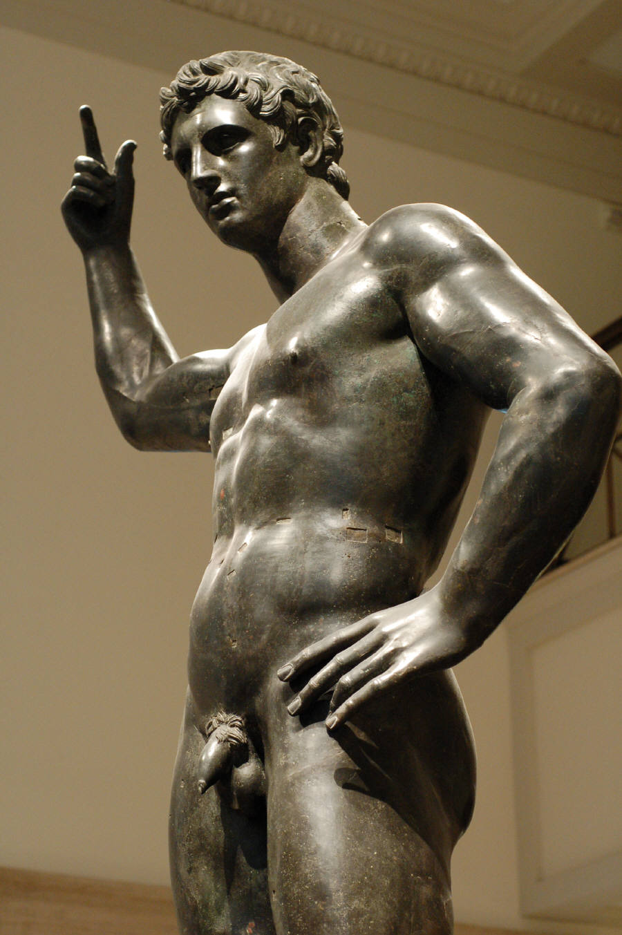 You Greek male nude statues have