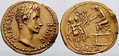 Logo for Roman Numismatics, Art, History and Archeology
