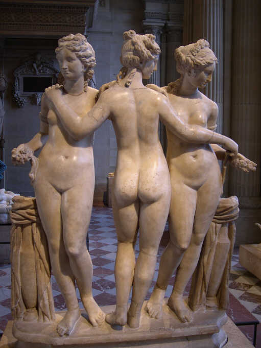 Think, Greek male nude statues