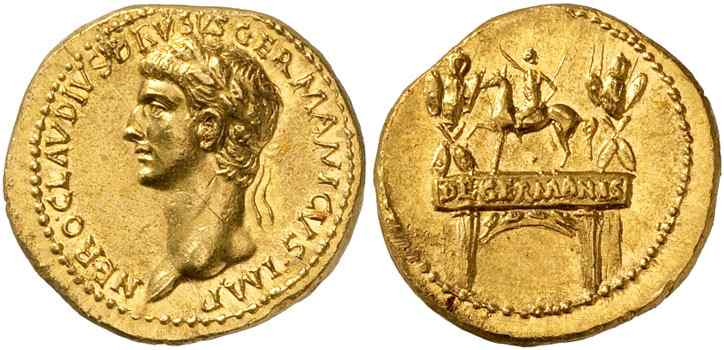 Historical Coins: Caesar to Domitian