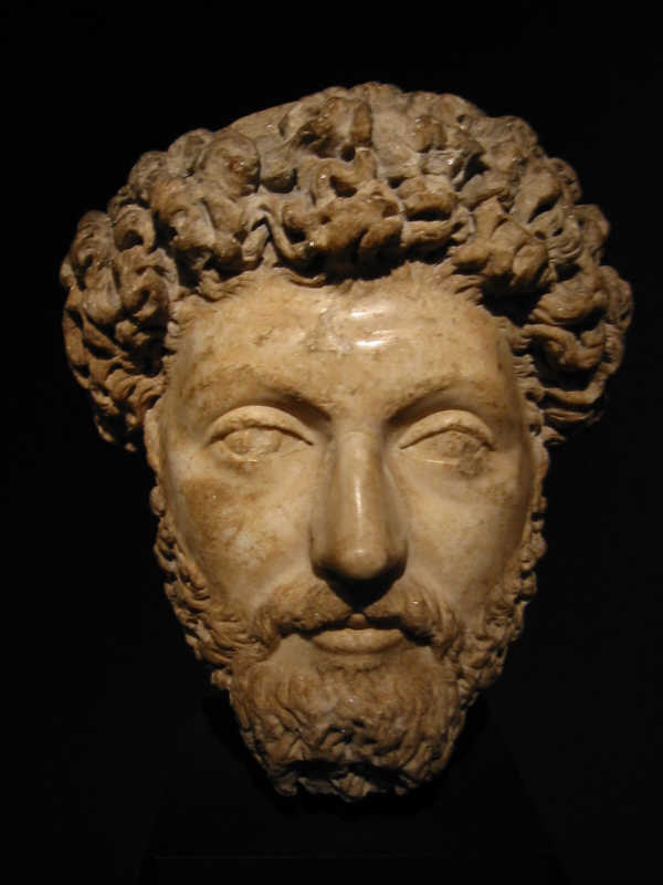 Marcus Aurelius as adult